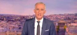 """Audiences 20h: Gilles Bouleau reste leader sur TF1 face à Anne-Sophie Lapix sur France 2 - """"Quotidien"""" sur TMC grimpe à plus de 1,6 million en évoquant le 11 septembre"""