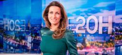 Audiences 20h: Anne-Claire Coudray affiche près de 2 millions de téléspectateurs de plus sur TF1 que Laurent Delahousse sur France 2