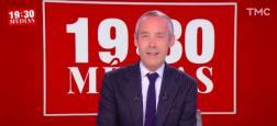 """Audiences 20h: """"Quotidien"""" sur TMC et """"Touche pas à mon poste"""" sur C8 au coude à coude - """"Les Marseillais"""" s'effondrent à 350.000 téléspectateurs sur W9"""