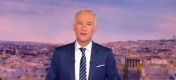 """Audiences 20h: Gilles Bouleau sur TF1 affiche un million de plus que Anne-Sophie Lapix sur sur France 2 - """"Quotidien"""" à 1,6 million sur TMC hier soir"""