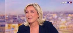 Audiences 20h: Le JT de TF1 avec l'interview de Marine Le Pen à 6,2 millions largement devant celui de France 2 et l'interview d'Anne Hidalgo