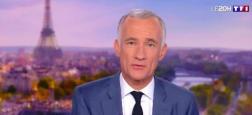 """Audiences 20h: Un million pile d'écart entre les journaux de TF1 et de France 3 - Quotidien sur TMC et """"Touche pas à mon poste""""  sur C8 au coude à coude"""
