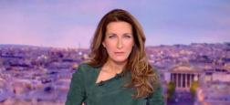 """Audiences 20h: Anne-Claire Coudray est la seule à dépasser les 5 millions sur TF1 - """"Quotidien"""" sur TMC et """"TPMP"""" sur C8 à égalité quasi parfaite sur la deuxième partie"""