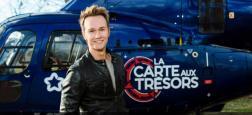 """France 3 diffusera un troisième numéro de """"La carte aux trésors"""", présenté par Cyril Féraud, le mercredi 17 octobre prochain à 21h00"""