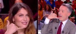 """Audiences 20h: Avec Laetitia Casta en invitée, """"Quotidien"""" de Yann Barthes sur TMC frôle les 2 millions de téléspectateurs"""