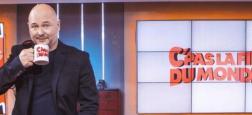 """Cauet arrive en prime sur NRJ12 pour deux émissions spéciales de fin d'année les dimanches 20 et 27 décembre avec """"C'Pas La Fin Du Monde"""""""