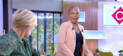 """Audiences Avant 20h: TF1, France 2 et France 3 très proches dépassent les 3 millions - Avec Christiane Taubira, """"C à vous"""" sur France 5 repasse juste au-dessus du million"""