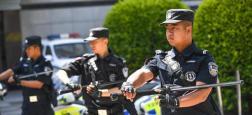Chine : Une attaque au couteau a fait 5 morts et 15 blessés dans les rues d'Anqing, une ville située à 1.200 kilomètres au sud de Pékin