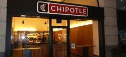 Nouvelle crise sanitaire aux USA pour la chaîne de restauration Chipotle - L'action dévisse à Wall Street