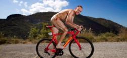 """Chris Froome, vainqueur du Tour de France, pose entièrement nu pour The Times ce week end mais """"se trouve ridicule devant un miroir"""""""