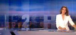 """Audiences """"20h"""": Le journal d'Anne-Claire Coudray leader hier soir sur TF1 avec 5,1 millions de téléspectateurs pour son journal"""