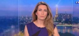 Audiences 20h: Le JT de TF1 présenté par Anne-Claire Coudray très large leader avec plus de 1,5 million de téléspectateurs de plus que celui de France 2