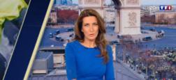 Audiences 20h: Plus d'un million de téléspectateurs d'écart hier soir entre le journal d'Anne-Claire Coudray sur TF1 et celui de Laurent Delahousse sur France 2