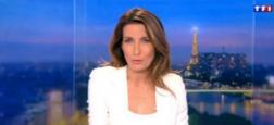 """Audiences 20h: Seul le journal d'Anne-Claire Coudray sur TF1 dépasse les 5 millions de téléspectateurs hier soir - """"Quotidien"""" reste puissant et approche 1,4 million sur TMC"""