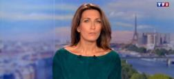 Audiences 20h : Le journal de TF1 de Anne-Claire Coudray à plus de 5,3 millions dépasse de 1,2 million celui de France 2