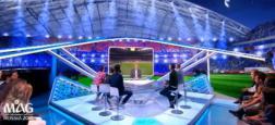 Audiences 2e PS: Le magazine de la Coupe du monde attire plus de 4,5 millions de téléspectateurs à 22h40 sur TF1