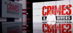 """Audiences - """"Crimes et faits divers"""" à 13h35 sur NRJ12 leader TNT hier et 4e chaîne de France sur les femmes de moins de 50 ans responsables des achats"""