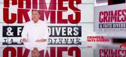 """Audiences: La quotidienne de """"Crimes et faits divers"""" à 13h45 sur NRJ12 bat son record depuis le début du confinement avec plus de 260.000 téléspectateurs"""