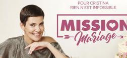 Cristina Cordula va aider deux couples qui vont se marier dans un nouveau prime le lundi 25 juin sur M6