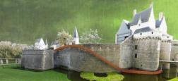 Nantes: Le toboggan géant sur les remparts du Château des ducs de Bretagne fermé en raison d'un deuxième accident