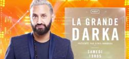 "Audiences 20h: Le journal d'Anne-Claire Coudray large leader à 6 millions - ""La grande darka"" de Cyril Hanouna à plus 750.000 hier"