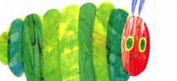"""L'Américain Eric Carle, auteur et illustrateur de livres pour enfants très populaires, est décédé aux Etats-Unis : """"La chenille qui fait des trous"""" est un de ses livres les plus connus"""