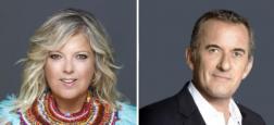 """OFFICIEL: Laurence Boccolini et Christophe Dechavanne vont présenter la télé-réalité de TF1 """"Je suis une célébrité sortez-moi de là"""""""