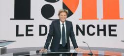 France 2 réaffirme sa confiance en Laurent Delahousse le dimanche à 19h et n'envisage pas de reprogrammer Drucker à cette heure