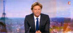 Audiences 20h: Seulement 250.000 téléspectateurs d'écart hier soir entre Laurent Delahousse sur France 2 et Anne-Claire Coudray sur TF1