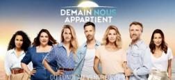 """Audiences Avant 20h: """"Demain nous appartient"""" sur TF1 battu d'une courte tête par Nagui sur France 2 mais aussi par le 19/20 sur France 3"""