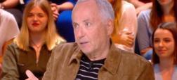 """Audiences 20h: Malgré la présence de Fabrice Luchini, Quotidien sur TMC battu dune courte tête par """"Touche pas à mon poste"""" sur C8 avec Ophélie Winter"""