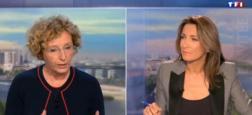 Audience 20h: Petit écart hier soir entre les journaux de Laurent Delahousse sur France 2 et Anne-Claire Coudray sur TF1