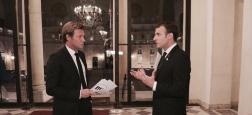 France 2 diffusera dimanche à 20h une interview exclusive d'Emmanuel Macron réalisée cette semaine par Laurent Delahousse à l'Elysée