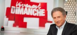 """Michel Drucker: """"Laurent Delahousse à 19h le dimanche ? Je n'ai pas à vous dire si ça m'a fait plaisir ou pas plaisir !"""""""