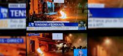 """Accusée d'avoir manipulé les images de violence à Bordeaux hier soir, la direction de BFM TV répond aux attaques de """"Fake News"""""""