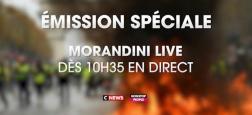 """Après l'intervention d'Emmanuel Macron , """"Morandini Live Spécial"""" à 10h35 sur CNews pour réagir à toutes les annonces"""