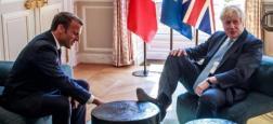 La photo de Boris Johnson, un pied sur la table basse de l'Elysée lors de sa rencontre avec Emmanuel Macron, surprend les internautes