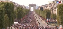 Audiences retour des Bleus: L'édition spéciale de TF1 largement leader avec 5 millions de téléspectateurs hier après-midi
