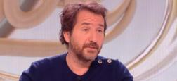 Edouard Baer présentera une nouvelle émission en direct avec des invités le jeudi 12 avril prochain en prime sur Paris Première