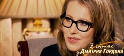 """Russie: La star de télé, Ksenia Sobtchak, surnommé """"La Paris Hilton russe"""" annonce sa candidature à la présidentielle"""
