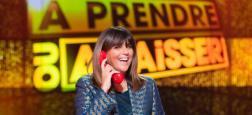 """Audiences 20h: Le journal de Laurent Delahousse sur France 2 proche de celui d'Anne-Claire Coudray sur TF1 - L'audience de Valérie Benaïm à la tête de """"A prendre ou à laisser"""" sur C8"""