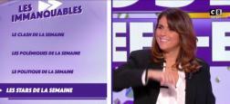 """Audiences 20h: Quel score pour le lancement de la nouvelle émission de Valérie Benaïm hier soir sur C8 : """"Touche pas à mon poste Week-end"""" ?"""