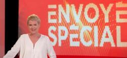 """France 2 annonce une nouvelle formule pour """"Envoyé Spécial"""" à partir du jeudi 5 septembre avec Elise Lucet qui sera sur le terrain chaque semaine"""
