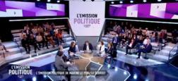 """Audiences 2e PS: """"L'émission politique, la suite"""", avec Léa Salamé, attire 904.000 téléspectateurs à 22h55 sur France 2"""
