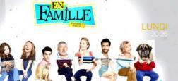 """Audiences: Bon lancement pour la septième saison de """"En famille"""" sur M6 avec 3,1 millions de téléspectateurs à 20h25"""