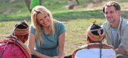 """France 2 diffusera un nouveau numéro de """"Rendez-vous en terre inconnue"""" le mardi 3 décembre à 21h05 - Estelle Lefébure ira au Kenya chez les Samburu"""