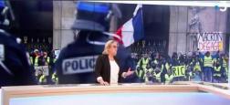 """Gilets jaunes: Le syndicat Force Ouvrière envisage de saisir le CSA après la diffusion dans le """"19/20"""" d'une pancarte anti-Macron retouchée"""