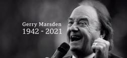 """Gerry Marsden, le chanteur qui avait popularisé """"You'll never walk alone"""", devenu l'hymne du club de Liverpool, est décédé dimanche à l'âge de 78 ans"""