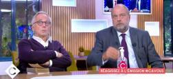 """Audiences Avant 20h: Les access restent faibles à moins de 2,8 millions - """"C à vous"""" avec Fabrice Luchini et Eric Dupont-Moretti passent au-dessus du million sur France 5"""