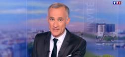 Audiences 20h: Gilles Bouleau leader à 5.6 millions de téléspectateurs sur TF1 - Le journal d'Anne-Sophie Lapix sur France 2 à 4.7 millions